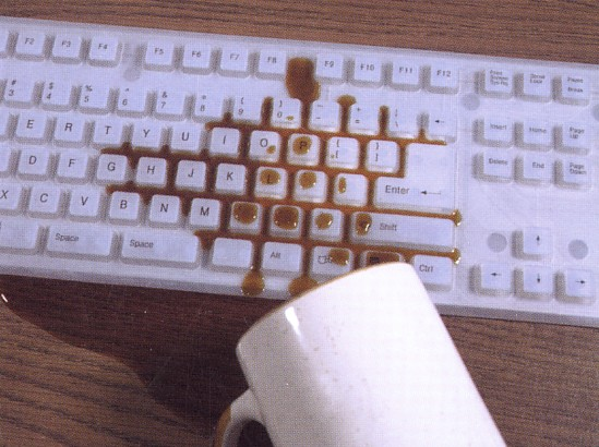 Virtually Indestructible Keyboard