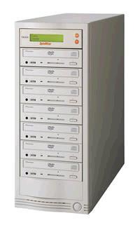 SpinWise 7-416D DVD Duplicator Tower